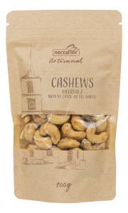 Cashews Meersalz artisanal geröstet