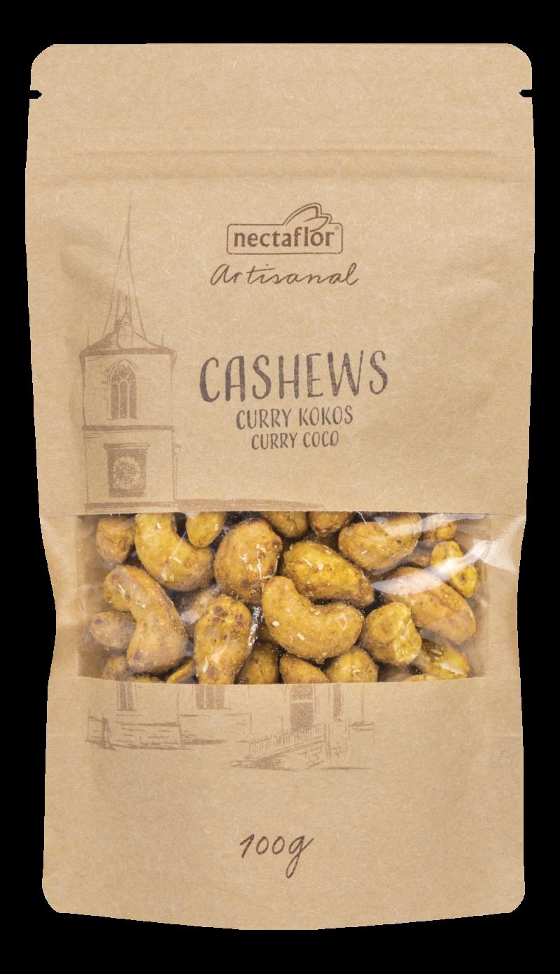 Cashews Curry Kokos artisanal geröstet